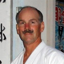 larry karate instructor